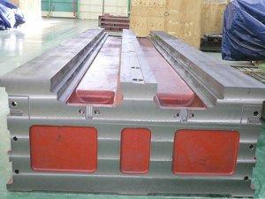 铸铁机床床身铸件